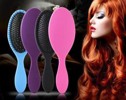 Hair Brushing NZ - Hot Wet & Dry Hair Brush Original Detangler Hair Brush Massage Comb With Airbags Combs For Wet Hair Shower Brush