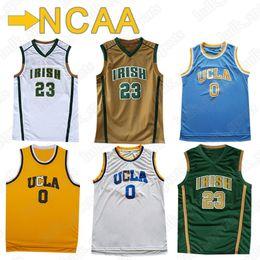 4558cfb67fa0 NCAA jerseys 0 Westbrook jersey 23 LeBron James jerseys 2019 new men hot  sell basketball uniform