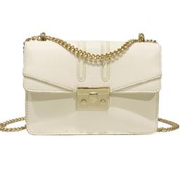 $enCountryForm.capitalKeyWord Australia - Women's bag 2019 Europe and the new fashion lock buckle Messenger chain bag Korean version of the chain ladies shoulder bag#003