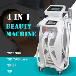 $enCountryForm.capitalKeyWord Australia - Nd Yag Laser Tattoo Removal Machine spot treatment OPT SHR Binkini Hair Removal Device RF ipl elight photofacial Equipment