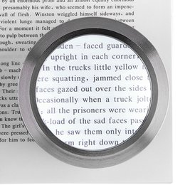 Magnifier desktop online shopping - 5X Desktop Cylinder K9 Magnifier Lens Tool Magnifying Glass with LED Lights for Antique Viewing Reading Jewelry Identification