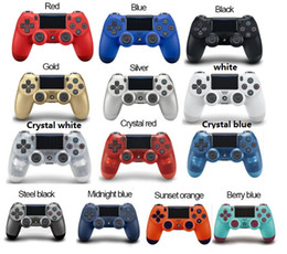 Station Wireless Controllers Australia - 14 colors luetooth Wireless PS4 Controller for PS4 Vibration Joystick Gamepad PS4 Game Controller for Sony Play Station With box Packaging
