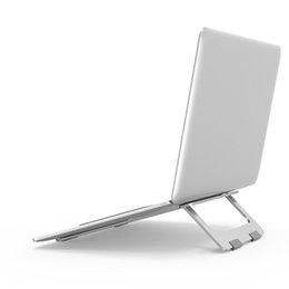 Laptop Faltbarer Ständer Aluminium Einstellbar Desktop Tablet Halter Schreibtisch Tisch Handy Ständer Für iPad Macbook Pro Air Notebook auto