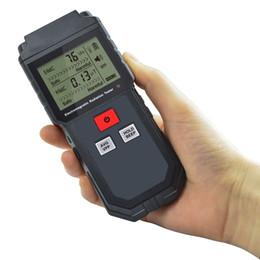 phone tester 2019 - Electromagnetic Radiation Tester Portable Digital Lcd Electric Magnetic Field Emf Meter Dosimeter Detector For Computer