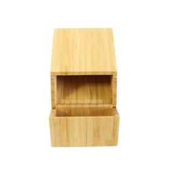 $enCountryForm.capitalKeyWord Australia - New Bamboo Storage Box Cigarette Cases Magnet Cover Portable Innovative Design High Quality Smoking Tool Accessories Hot Cake DHL Free