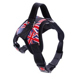 $enCountryForm.capitalKeyWord Australia - Nylon Dog Harness Vest Reflective Tape Breathable Mesh Pet Dogs Leash Harness Pet Products MYDING