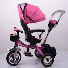 $enCountryForm.capitalKeyWord Australia - Children's Three-wheel Bicycle Swivel Seat Baby Stroller Free Inflatable Wheel Three Wheels Stroller Child Trike