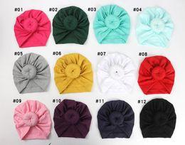 $enCountryForm.capitalKeyWord UK - Baby Hat Newborn Kids Baby Hats Accessories Solid Caps Turbans Caps Lovely Children Headwear Wrinkle Cap Accessories