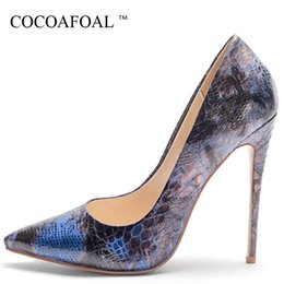 $enCountryForm.capitalKeyWord NZ - Cocoafoal Womem's High Heels Shoes Sexy Woman Valentine Shoes Red Blue Yellow Plus Size 33 Pointed Toe Wedding Bridal Shoe Pumps
