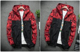 x men hoodie Canada - 2019 Wholesale for Men Designer Windbreaker Sports Running Jackets X-sports Casual Zipper Hoodies Patchwork Print Patchwork M-6XL B101556T