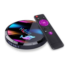 Venta al por mayor de 2020 nuevo H96 MAX X3 red TV Box S905X3 Android 9,0 TV BOX 4G/32G doble banda WiFi + BT más nuevo Smart TV BOX 4 K 8 K