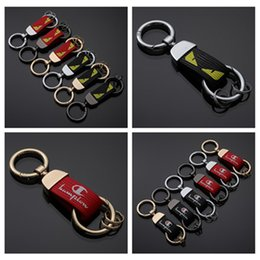 $enCountryForm.capitalKeyWord Australia - New Fashion Leather keychains Keyring For Bag Key Holder Charm Hanging pendant DesignerCar Key Chains Key Ring Women Men Auto Pendant Gift