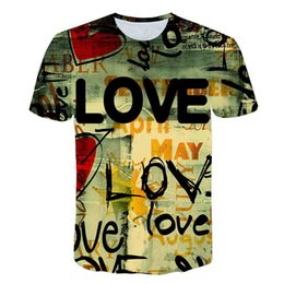 T-shirt stampata in 3D Plus Size 5XL T shirt Uomo Divertente Tops Tees Vestiti di alta qualità Kids Teenage Loose Top
