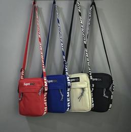 Option Pack Australia - 2019 New champ Fashion Man Women sup SHOULDER BAG chest pack fashion bags Single shoulder bag with 4 colors option