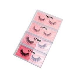 Free Shipping Eyelash False Australia - Big Eye's Secret Free Shipping 5pcs lot Handmade Silk False Eyelash 3D Strip Mink Lashes Private Logo Faux Eyelash