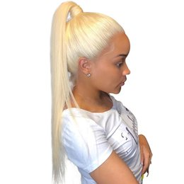 Blond Human Hair Full Lace Wigs Australia