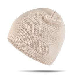 Woman Earmuffs Australia - New Pattern Autumn And Winter Men And Women Hats Solid Color Keep Warm Knitting Keep Warm Wool Set Head Cap Earmuffs Hat Package Head Cap