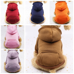 Pet Dog Clothes Warm Dog Coat Hoodies Pocket Jackets Puppy Pet Overalls Small Dog Costume Pets Outfits Pet Supplies 10pcs LYW1508 from yellow ski goggles manufacturers
