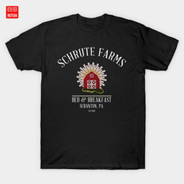 Schrute Farms Bed and Breakfast Nabos Barn T T-shirt O escritório Usa Shrute O escritório nos EUA Shrutefarms Dwight Schrute Beets