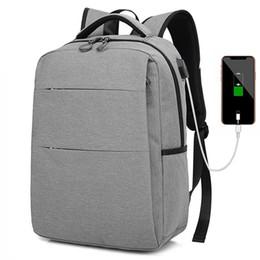 $enCountryForm.capitalKeyWord Australia - High Quality Business Laptop Backpacks Usb Charging Teenage 15.6 Inch School Bags Large Men Women Travel Backpack Mochila