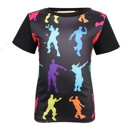 Großhandel 2019 neue Easy Digital 3D Printing Kurzarm T-Shirt Fortress Digital Printing Kinder T-Shirt Jungen