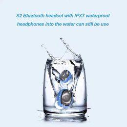 $enCountryForm.capitalKeyWord UK - S2 TWS Twins Bluetooth Earphones IPX7 Waterproof Mini Double-Ear Headsets Binaural Ear buds With Charging Dock
