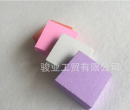 mini buffer blocks Australia - 100PCS LOT mini sanding nail file buffer block for nail tools art pink emery board for nail salon Free shipping