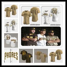 Tony gwynn jerseys online shopping - San Diego Manny Machado Padres Jersey Baseball Fernando Tatís Jr Eric Hosmer Wil Myers Tony Gwynn Trevor Hoffman Men Women Kids Custom