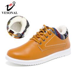$enCountryForm.capitalKeyWord Australia - VESONAL Winter Warm Short Plush Casual Sneakers Men Shoes For Adult Quality Pu Leather Fashion Skateboard Shoes Male Footwear