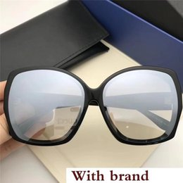 big squared sun glasses NZ - Oversized Lady Sunglass Square Big Frame Sunglass Vintage Plank Ultralight Sun Glass Fashion Style Sunglass For Shopping Beach With Box