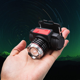 Lithium Battery Headlamp Charging Type Front Light 55W 35W Zoom Outdoors Various Colours Of Light Portable Flexible 20tf2f1 on Sale