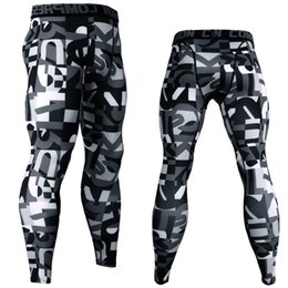 $enCountryForm.capitalKeyWord Australia - 3D Printed Camouflage Joggers Leggings Men Quick Dry Compression Pants Gyms Fitness Tights Casual Crossfit Trousers Long Pants