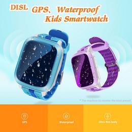 counter watches 2019 - Waterproof Drop-proof Smart Watch Emergency Help Alarm Clock Voice Intercom Sports Step Counter Children's Watch ch