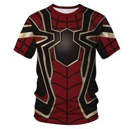 $enCountryForm.capitalKeyWord UK - J190529Kids Superhero T Shirt 2019 Summer Boy Girl Fashion Spider Man Animal Printed T-shirt Kids Cool Avenger Pullover Tshirts J190529