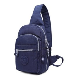 Single Shoulder Strap Packs NZ - good quality Chest Pack Women Single Strap Crossbody Bags Waterproof Leisure Fashion Multifunctional Sling Shoulder Bag 2019