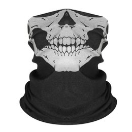 $enCountryForm.capitalKeyWord UK - Motorcycle Bike Ride Terrible Skeleton Windproof Mask Skull Mask Dust-proof Motorcycle Face Mask for Out Riding Motorcycle Bicycle Bike