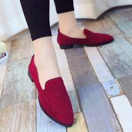 Ladies Soft Canvas Shoes Australia - A16 hot selling womens fashion shoes new style ladies flat shoes high quality canvas leather soft soles shoes with box size35-41