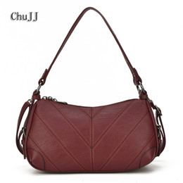 genuine leather crossbody handbags wholesale Canada - Soft Leather Bags Women's Genuine Leather Handbags Woman Messenger Bag Ladies Shoulder Crossbody Bags For Women