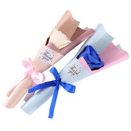 $enCountryForm.capitalKeyWord Australia - Handmade soap rose flower single branch birthday gift Valentine's Day Mother's Day gift engagement decoration diy gift