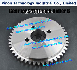 $enCountryForm.capitalKeyWord Australia - edm Gear (Stainless Steel type) for S414 Pinch Roller B 118535B size: Ø72x17x10.5tmm, for Sodic AQ327,AQ300L,AQ537L,SL400,SL600 (New model)