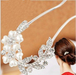 Crystal Plastic Hair Clip Australia - Women's Fashion Hair Accessorie Lovely Vintage Jewelry Crystal Hair Clips Hairpins- For Hair Clip Beauty Tools C19010501