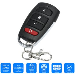 universal garage door remote duplicator Canada - 2019 Universal Car Alarm Garage Door Remot Controller Gate Opener Duplicator Clone Code Scanner Security Alarm Remote Controller