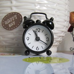 Wholesale Alarm Clock Round Number Double Bell Desk Table Digital Clock Home Decors