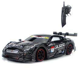 RC Car Para GTR / Lexus 2.4G Off Road 4WD Drift Racing Car Championship Veículo Remoto Controle Eletrônico Crianças Hobby Brinquedos T200115 em Promoção