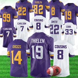 44e62075c AmericAn footbAll jerseys 22 online shopping - Minnesota Adam Thielen  Vikings jerseys Stefon Diggs Mike Hughes