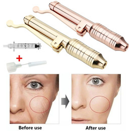 0.3ml Hyaluron Pen for Lip lifting lift lip filler Non Invasive Needle free Hyaluronic Pen Syringe Atomizer Injection Wrinkle Removal on Sale