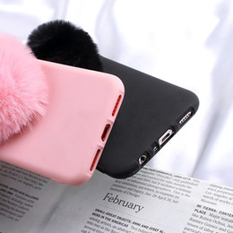 Love Heart Phone Australia - Furry Love Hearts Cute Hair Phone Case For Xiaomi Mi A2 Cases For Mi 8 Se 6x A1 5x Redmi Y1 Lite Y2 Max 3 Pro Mix 2s Phone Cover