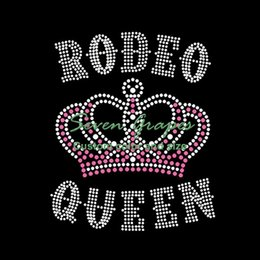 Hot Sales New Design Bunco Queen crown Rhinestone Transfer Iron On Hotfix  Motif 20pcs 2b6048a525bc