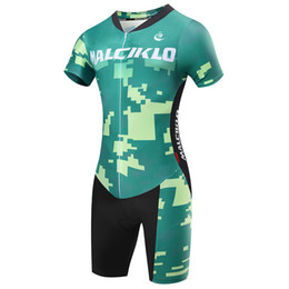 bike suit white NZ - Customized Triathlon Suit Cycling Jersey Short Sleeve Pro Team Cycling Skinsuit Mountain Bike Clothing Racing Swimming Running jumpsuits Set