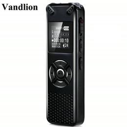 Telephone Audio Australia - Vandlion Professional Smart Digital Voice Recorder Portable Hidden Hd Sound Audio Telephone Recording Dictaphone Mp3 Recorder T6190610